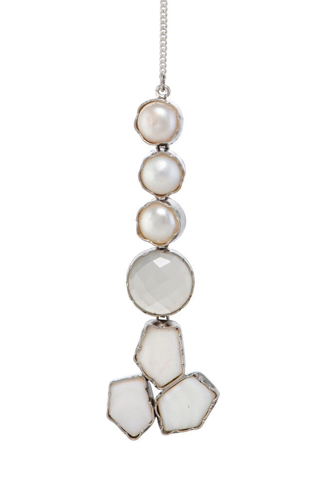 Mother of Pearl and Moonstone Transition Teeka