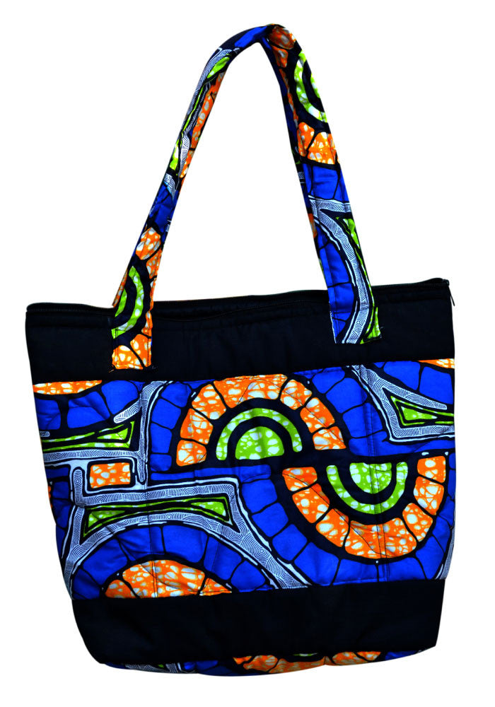 Women's Tote Bag, Floral Commuter Bag, Fabric...