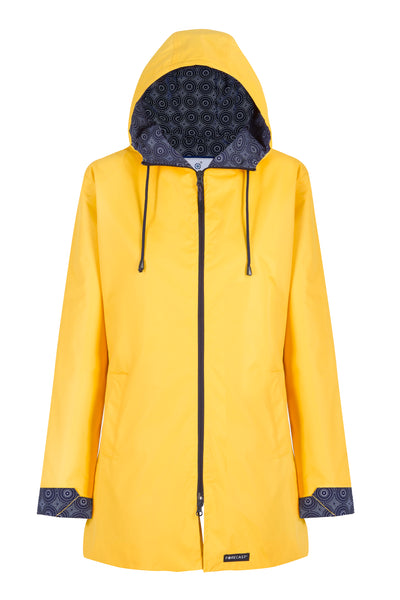 Yellow Long Length Raincoat
