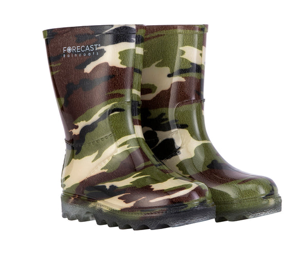 Kiddies Camo Rain Boot