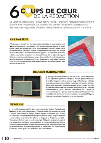 Home fashion news Cap d Arsène