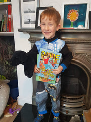 Ollie as Ollie on World Book Day 2019