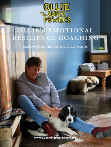 Ollie's Emotional Resilience Coaching to help us all get through now - Online Course only