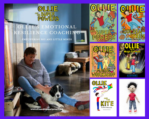 Ollie's Emotional Resilience Course - plus a complete set of books and free Ollie toy