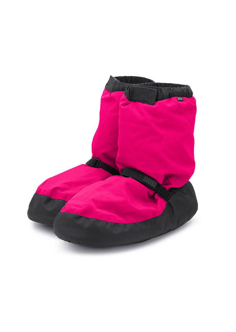 Warm up Booties- Fluorescent Pink
