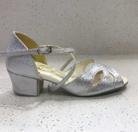 SALE Megan Sparkle silver and White Was £49