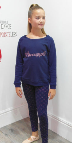 GIRLS PINEAPPLE OVERSIZED JUMPER was £20 now £14