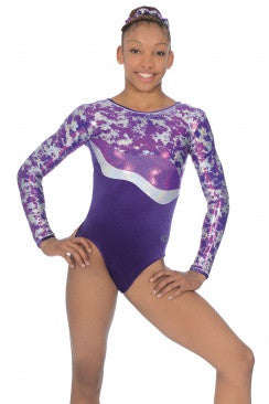 FUSION LONG SLEEVED GYMNASTICS LEOTARD