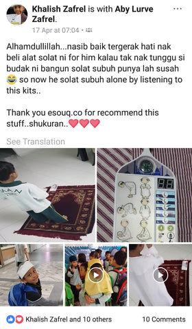 Learn2Solat Prayer Kit Reviews