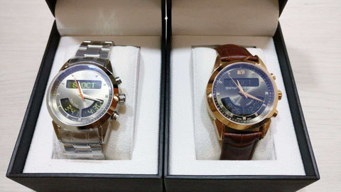 Alif Deluxe Azan & Qibla Watch Couple Set - esouq.co - Muslim Lifestyle Marketplace