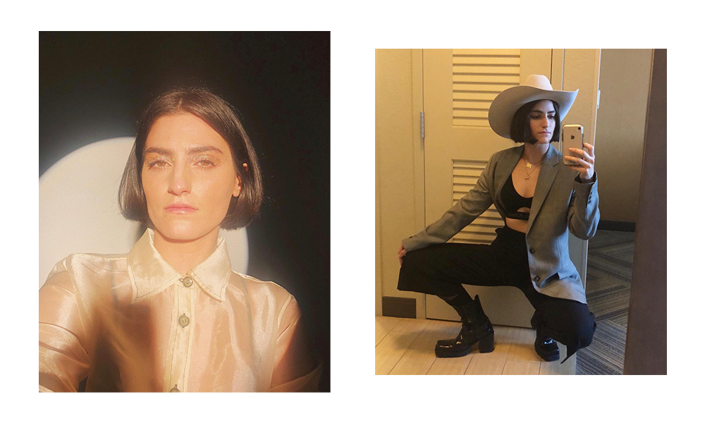 Images of Mattiel, taken from her instagram.
