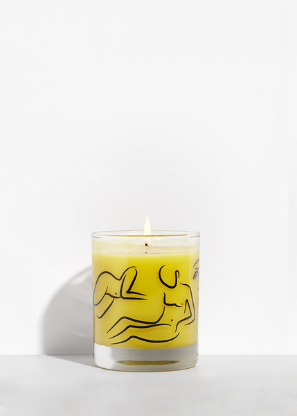 Fur Candle