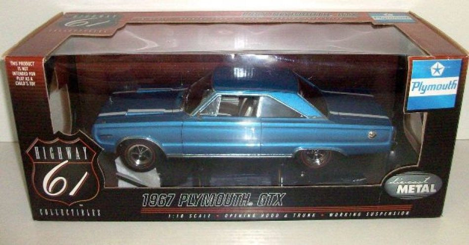 Plymouth GTX 1967 Highway 61 1/18