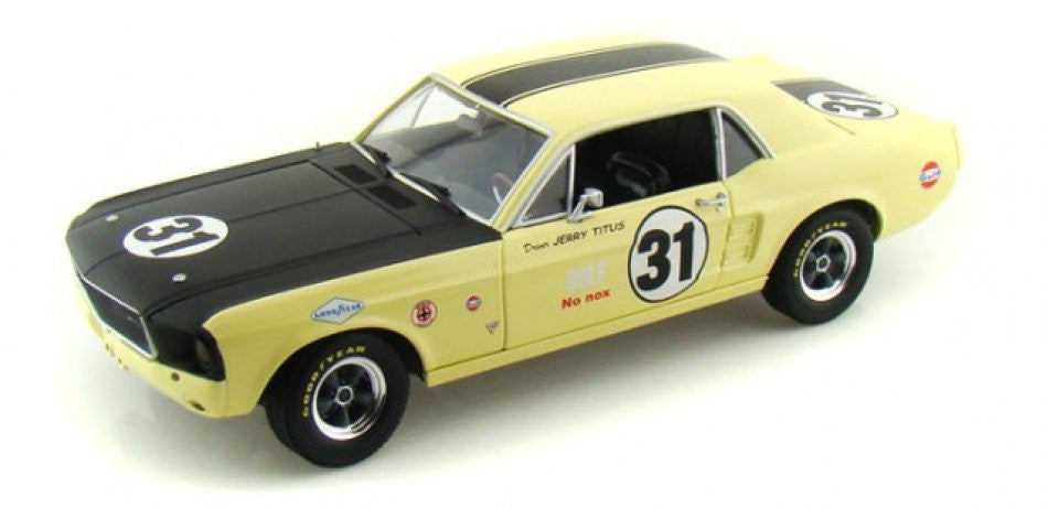 Ford Mustang Coupe #31 Jerry Titus 1967 Greenlight 1/18