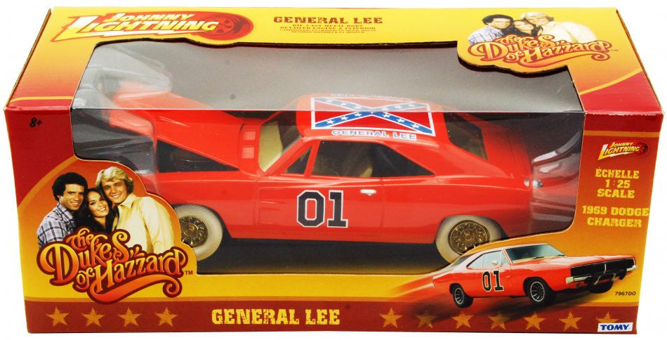 Dodge Charger 1969 General Lee Dukes of Hazzard Johnny Lightning 1/25