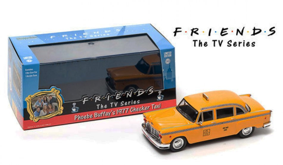 Checker Taxi 1977 Greenlight 1/43