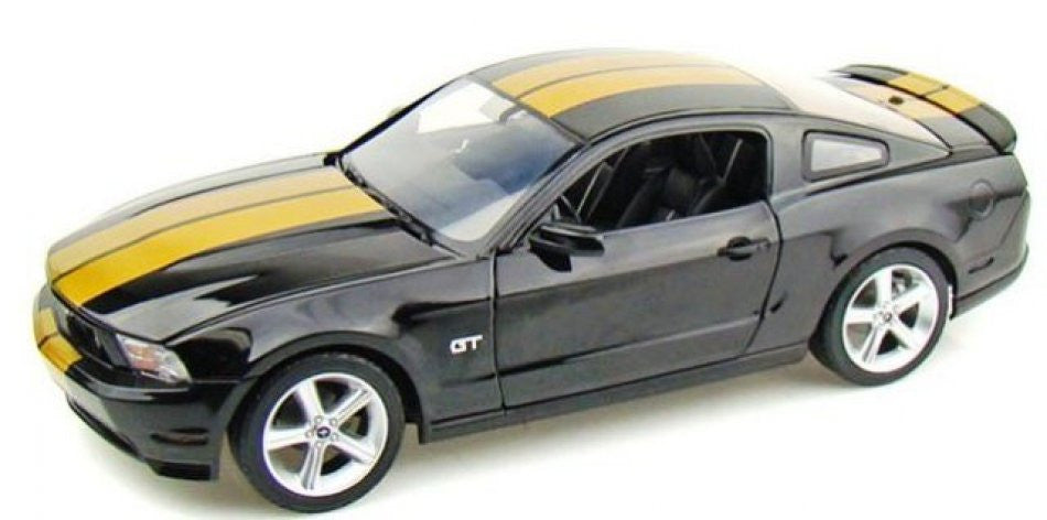 Ford Mustang GT Hertz 2010 Greenlight Autralian Diecast Distributors 1/18