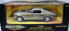 Ford Mustang GT Cobra Jet 428 1968 ERTL American Muscle 1/18