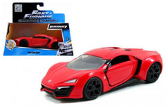 Lykan Hypersport fast & Furious Jada 1/32