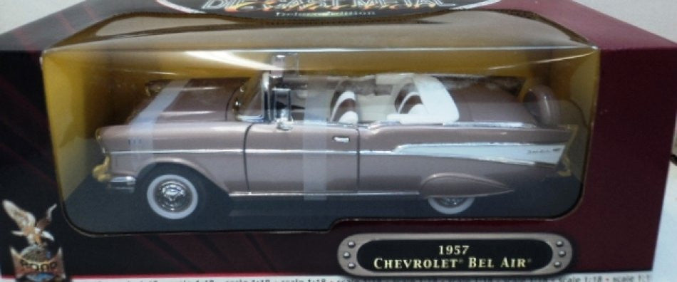 Chevrolet Bel Air Convertible 1957 Road Signature 1/18