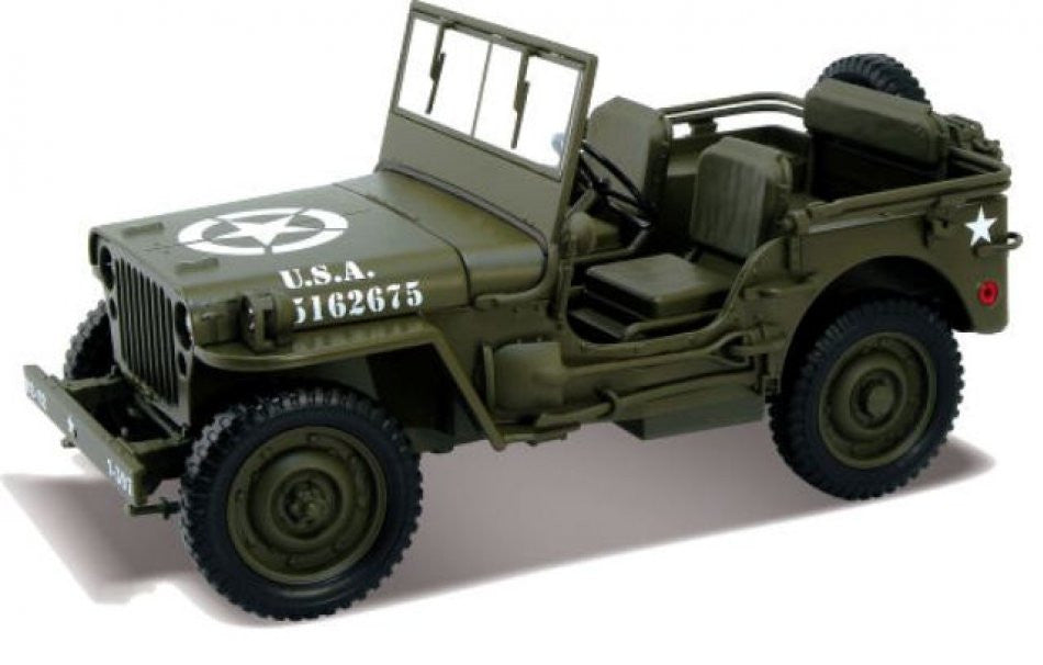 Willys 1/4 ton Army Truck Welly 1/18