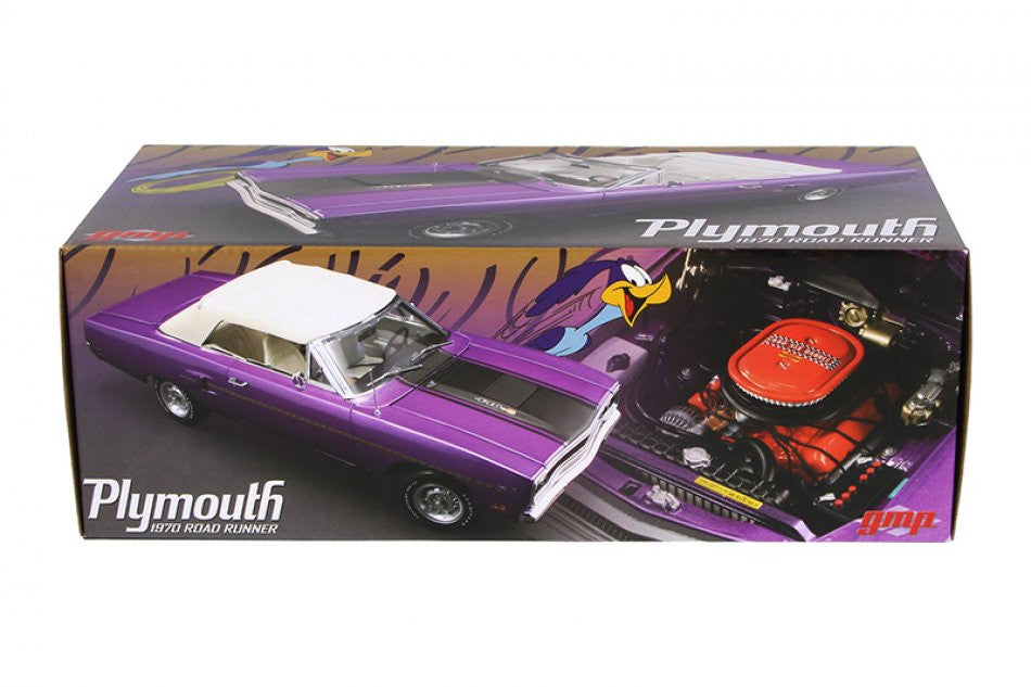 Plymouth Road Runner Convertible 1970 GMP 1/18