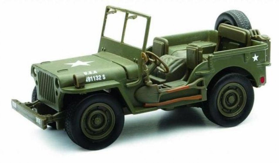 Willys 1/4 ton Army Truck New Ray City Cruiser 1/32