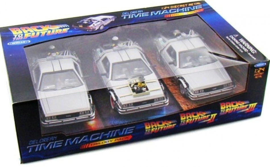 Delorean Back To The Future Welly 1/24