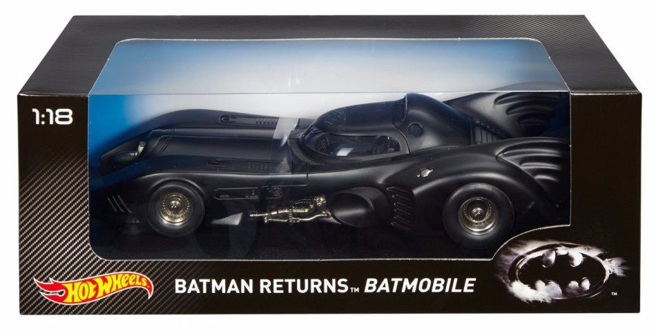 Batmobile Batman Returns Hot Wheels 1/18