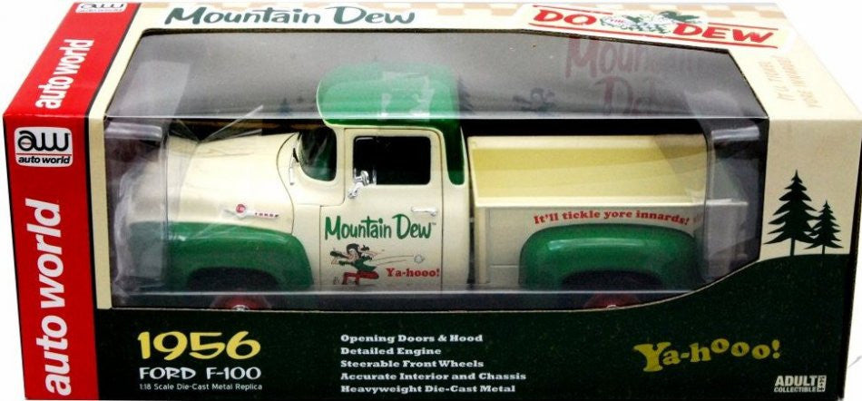Ford F-100 Pick Up 1956 Autoworld 1/18