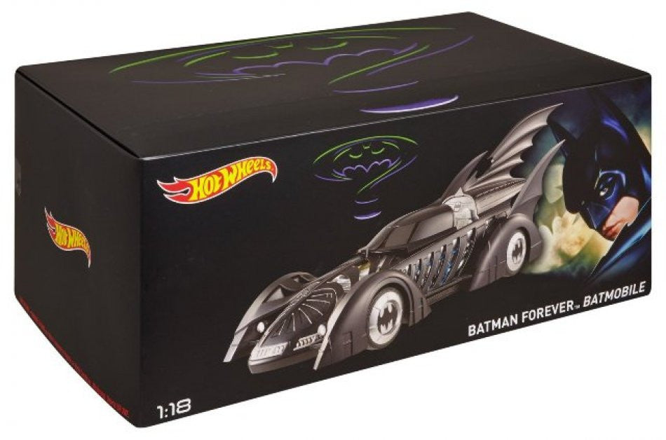 Batmobile Batman Forever HotWheels 1/18