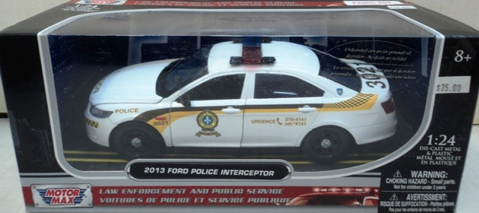 Ford Taurus Police Interceptor SQ Motor Max 1/24