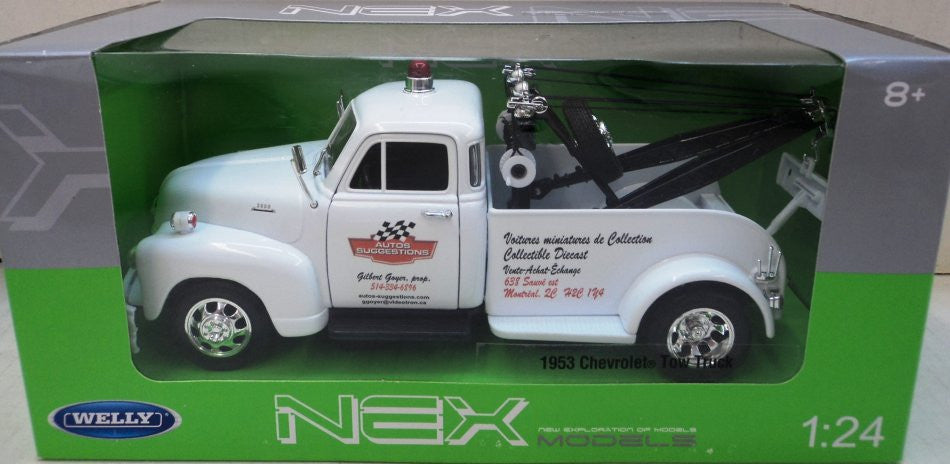 Chevrolet 1953 Remorqueuse AUTOS-SUGGESTIONS (Tow Truck) Welly NEX 1/24
