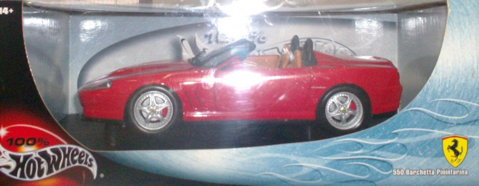 Ferrari 550 Barchetta Pininfarina Hot Wheels 1/18