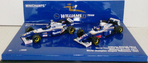 Williams Renault FW18 et FW19 1996-1997 Minichamps 1/43