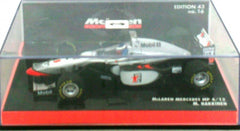 McLaren Mercedes MP4/12 1997 Minichamps 1/43