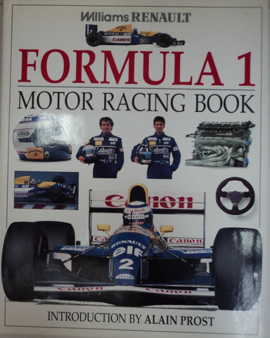 Williams Renault Formula 1 Motor Racing Book