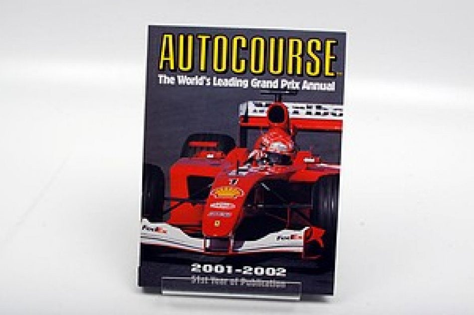 Autocourse The World's Leading Grand Prix Annual 2001-02