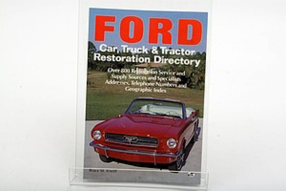 Ford Car, Truck and Tractor Restoration Directory