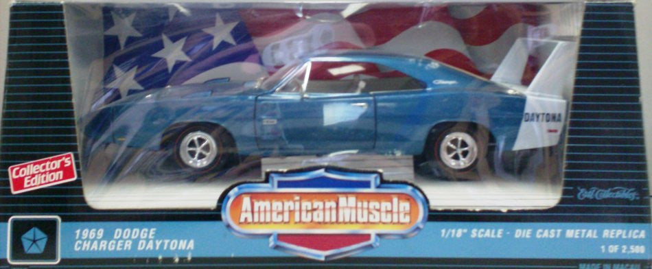 Dodge Charger Daytona 1969 ERTL American Muscle 1/18