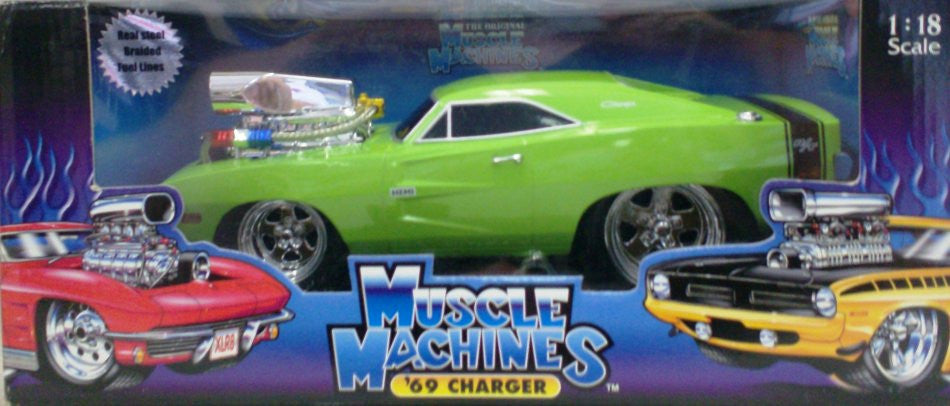 Dodge Charger HEMI 1969 Muscle Machines 1/18