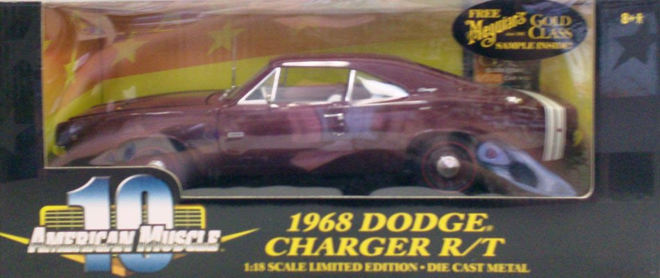 Dodge Charger R/T 1968 ERTL American Muscle 1/18