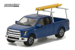 Ford F-150 Pick Up 2015 Blue Collar Collection Greenlight 1/64