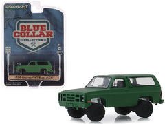 Chevrolet KS Blazer M1009 1988 Blue Collar Collection Greenlight 1/64