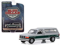 Ford F-150 XLT Pick Up 1996 Blue Collar Collection Greenlight 1/64