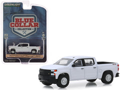 Chevrolet Silverado 1500 Pick Up 2019 Blue Collar Collection Greenlight 1/64