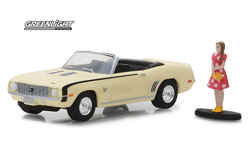 Chevrolet Camaro SS Convertible 1969 Hobby Shop Greenlight 1/64