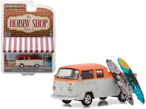 Volkswagen Type 2 Crew Cab Hobby Shop Greenlight 1/64
