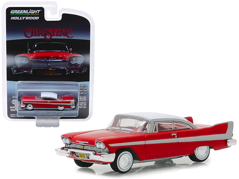 Plymouth Fury Christine 1958 Greenlight Hollywood 1/64