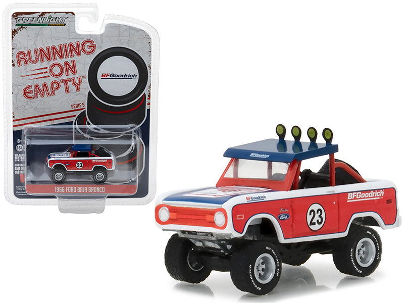 Ford Baja Bronco 1966 Running on Empty Greenlight 1/64